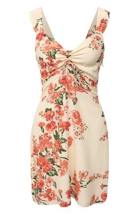 Женское платье из вискозы FAITHFULL THE BRAND розового цвета, арт. FF1621-MGF | Фото 1