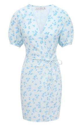 Женское платье из вискозы FAITHFULL THE BRAND голубого цвета, арт. FF1627-RCF | Фото 1