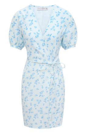 Женское платье из вискозы FAITHFULL THE BRAND светло-голубого цвета, арт. FF1627-RCF | Фото 1