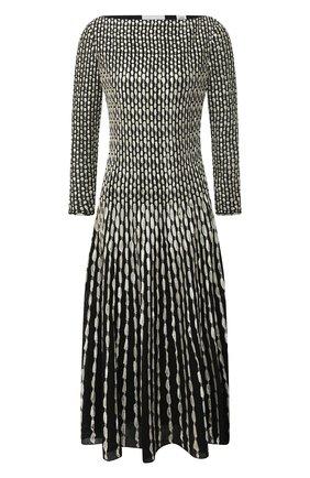 Женское платье ST. JOHN черно-белого цвета, арт. K1210K2 | Фото 1