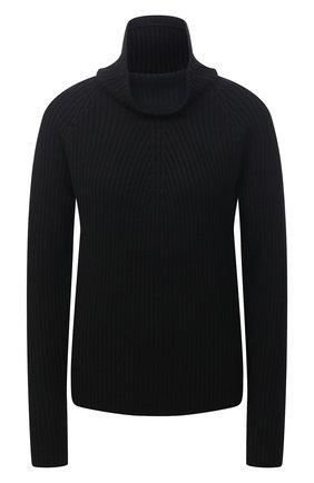 Женский шерстяной свитер ST. JOHN черного цвета, арт. K5110A2   Фото 1