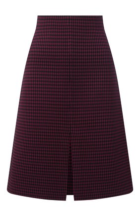 Женская юбка ST. JOHN бордового цвета, арт. K7110H2 | Фото 1