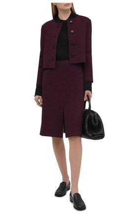 Женская юбка ST. JOHN бордового цвета, арт. K7110H2 | Фото 2