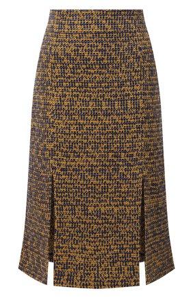 Женская юбка ST. JOHN темно-синего цвета, арт. K7110K3   Фото 1