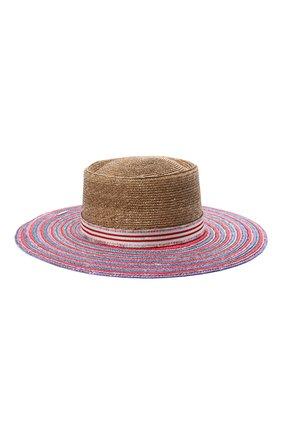 Женская соломенная шляпа MISSONI разноцветного цвета, арт. MMS00061/BV006T   Фото 1