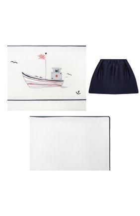 Детского комплект постельного белья отважный капитан A&A BABY GLAM разноцветного цвета, арт. CB - 0307-20   Фото 1