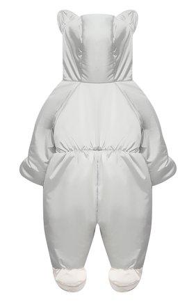 Детский комбинезон утеплённый закрытый CHEPE серого цвета, арт. 391475 | Фото 2