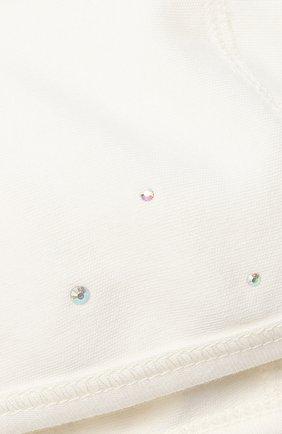 Детского комплект на выписку из 4-х предметов глоу CHEPE бежевого цвета, арт. 091985   Фото 3