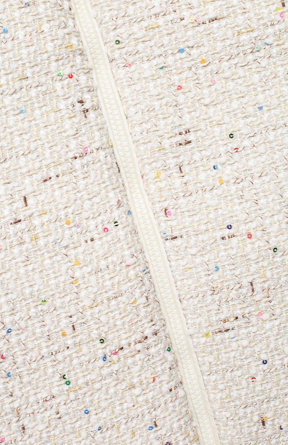 Детского комплект на выписку из 4-х предметов глоу CHEPE бежевого цвета, арт. 091985   Фото 4