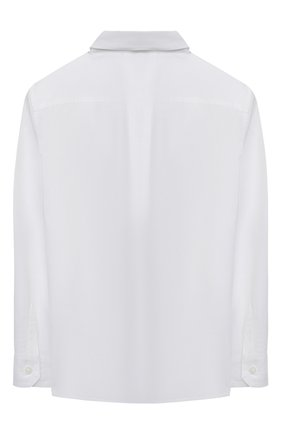 Детская хлопковая рубашка DOLCE & GABBANA белого цвета, арт. L43S14/G7YFM/2-6 | Фото 2