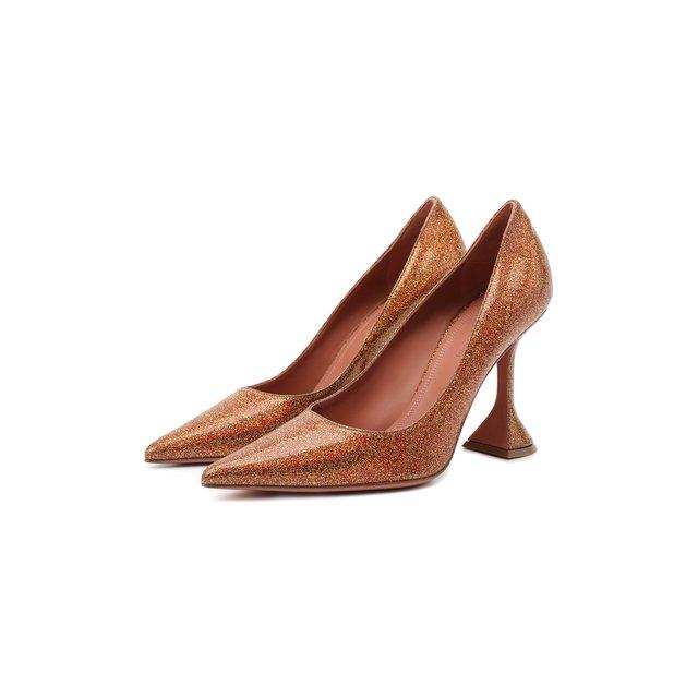 Комбинированные туфли Ami Amina Muaddi