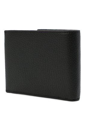 Мужской кожаное портмоне BOSS черного цвета, арт. 50441646   Фото 2