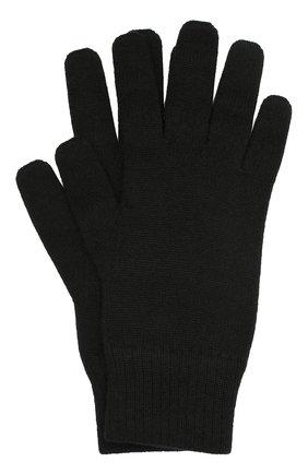 Мужские кашемировые перчатки CANOE черного цвета, арт. 6916910 | Фото 1