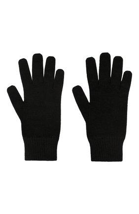 Мужские кашемировые перчатки CANOE черного цвета, арт. 6916910 | Фото 2