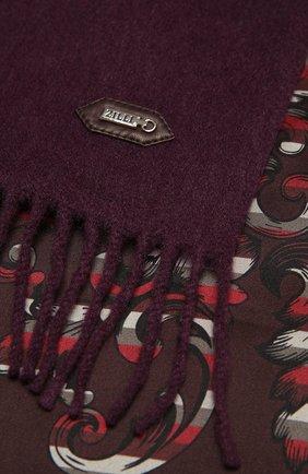Мужской кашемировый шарф ZILLI бордового цвета, арт. MIU-ALIZE-40825/0003 | Фото 2