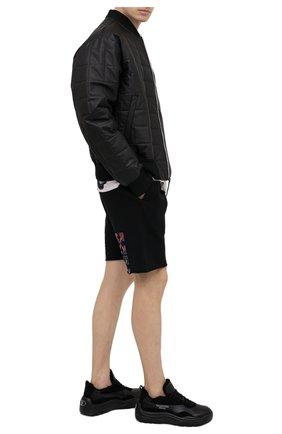 Мужские кожаные кроссовки gumboy valentino garavani VALENTINO черного цвета, арт. VY2S0B17/QSM | Фото 2