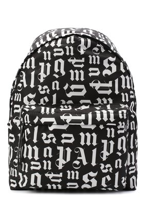 Мужской текстильный рюкзак PALM ANGELS черного цвета, арт. PMNB008R21FAB0011001 | Фото 1