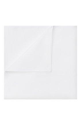 Мужской хлопковый платок ZILLI белого цвета, арт. MFU-M0UCH-10715/0001 | Фото 1