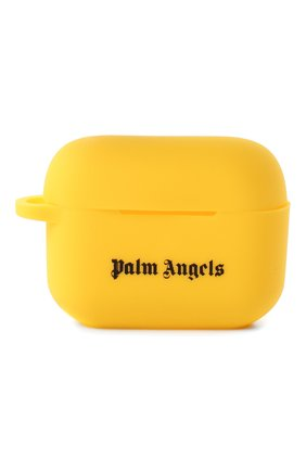 Чехол для airpods pro PALM ANGELS желтого цвета, арт. PMZA004R21PLA0011810 | Фото 1