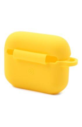 Чехол для airpods pro PALM ANGELS желтого цвета, арт. PMZA004R21PLA0011810 | Фото 2
