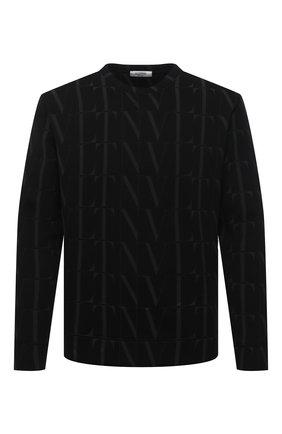 Мужской свитшот VALENTINO черного цвета, арт. VV3MF04S6WG   Фото 1