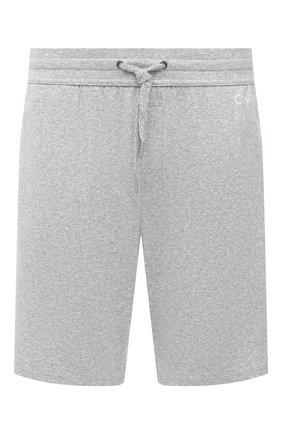 Мужские шорты CALVIN KLEIN серого цвета, арт. NM1541E | Фото 1