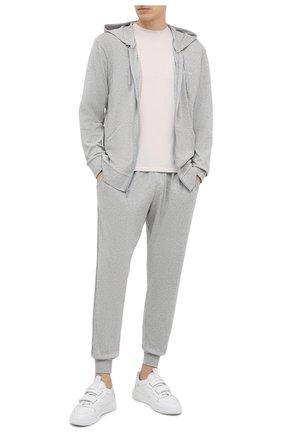 Мужские джоггеры CALVIN KLEIN серого цвета, арт. NM1540E | Фото 2
