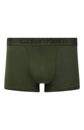 Мужские боксеры CALVIN KLEIN зеленого цвета, арт. NB1556A | Фото 1