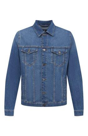 Мужская джинсовая куртка 7 FOR ALL MANKIND синего цвета, арт. JSK5R750MD | Фото 1