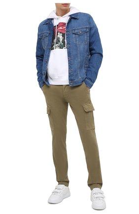 Мужская джинсовая куртка 7 FOR ALL MANKIND синего цвета, арт. JSK5R750MD | Фото 2