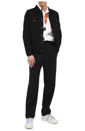 Мужская джинсовая куртка 7 FOR ALL MANKIND черного цвета, арт. JSK5R730BL | Фото 2