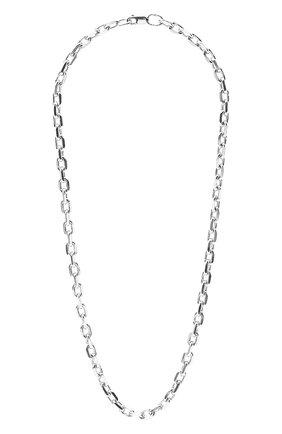 Женское колье MOONKA STUDIO серебряного цвета, арт. ch-nl-r50   Фото 1