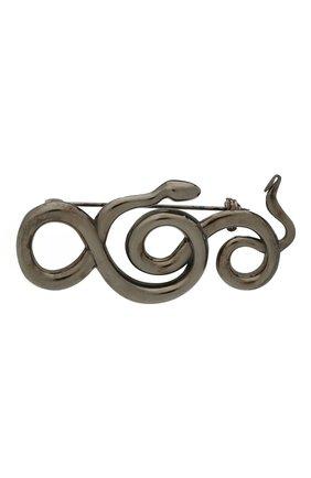 Женская брошь serpentes DZHANELLI серебряного цвета, арт. 0362 | Фото 1