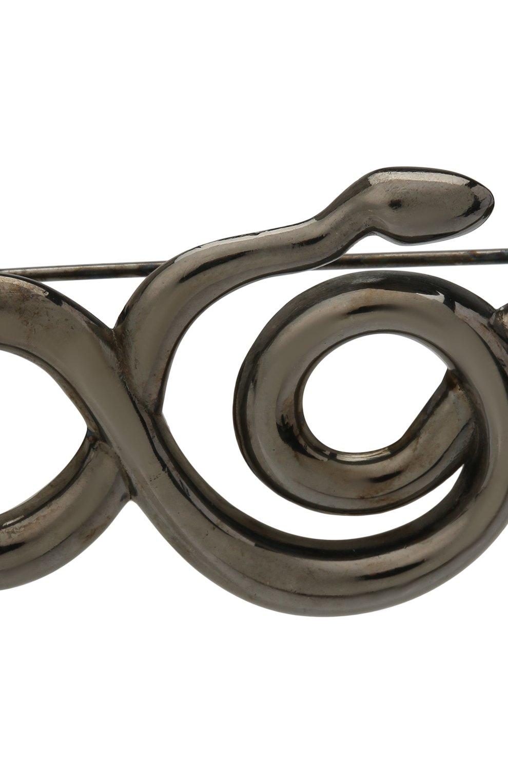 Женская брошь serpentes DZHANELLI серебряного цвета, арт. 0362 | Фото 4 (Материал: Серебро)