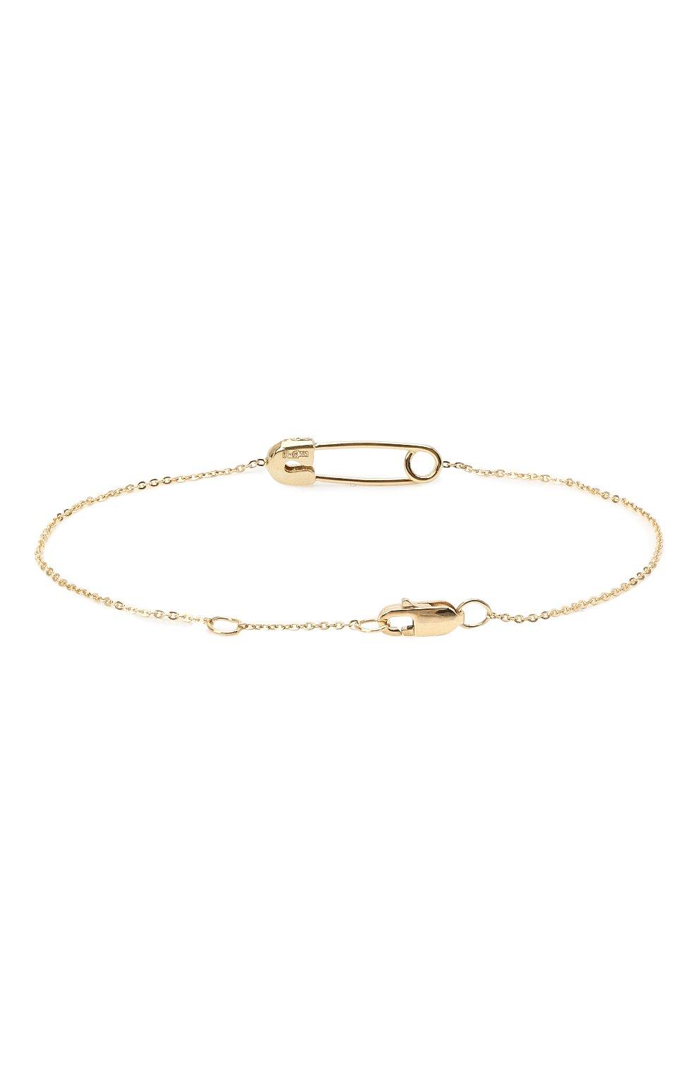 Женский браслет J-POINT золотого цвета, арт. ИПГ857.49.161020.28Y   Фото 2 (Материал: Золото)