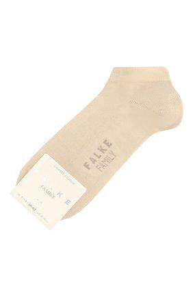 Женские хлопковые носки family FALKE бежевого цвета, арт. 47629 | Фото 1