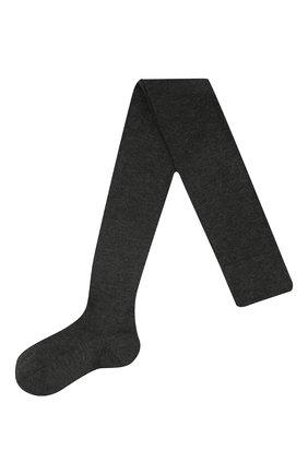 Женские колготки finest cashmere FALKE серого цвета, арт. 48401 | Фото 1