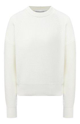 Женский свитер BOSS белого цвета, арт. 50443148 | Фото 1
