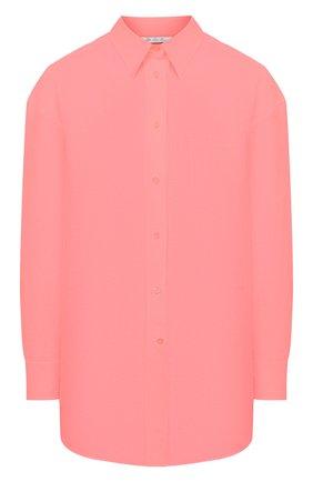 Женская льняная рубашка LORO PIANA розового цвета, арт. FAL5890 | Фото 1