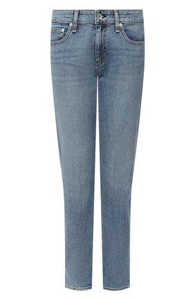 Женские джинсы RAG&BONE голубого цвета, арт. WDD20F2643K1EC | Фото 1
