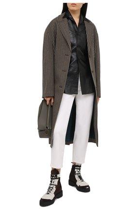 Женские джинсы 7 FOR ALL MANKIND белого цвета, арт. JSANX3700F | Фото 2