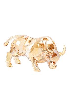 Скульптура chinese zodiac - ox SWAROVSKI золотого цвета, арт. 5422984   Фото 1