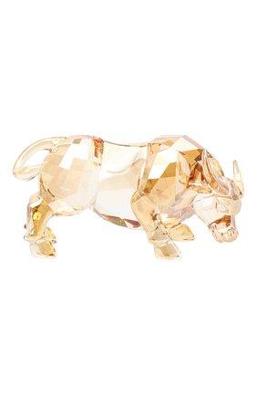 Скульптура chinese zodiac - ox SWAROVSKI золотого цвета, арт. 5422984   Фото 2