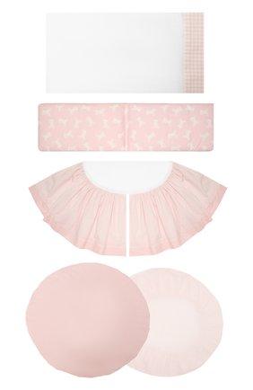 Детского комплект для кроватки stokke A&A BABY GLAM розового цвета, арт. PBS - 2901F   Фото 1
