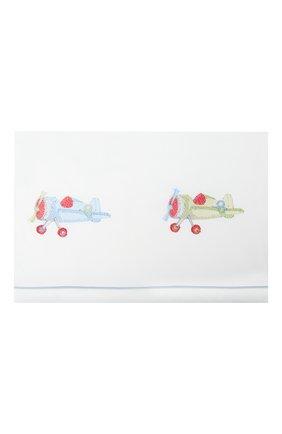 Детского комплект постельного белья A&A BABY GLAM белого цвета, арт. LFL - 0201-20   Фото 2
