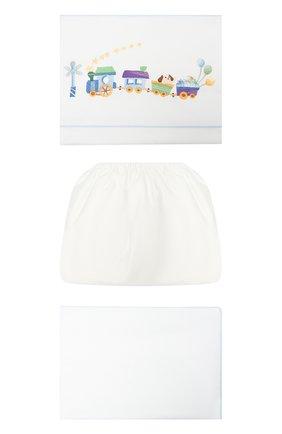 Детского комплект постельного белья A&A BABY GLAM белого цвета, арт. HT - 0102-20   Фото 1