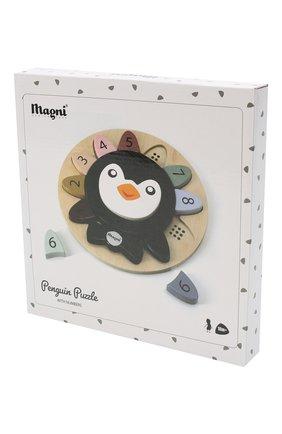 Детского пазл пингвин с номерами MAGNI разноцветного цвета, арт. 3131 | Фото 2