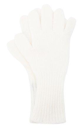 Детские кашемировые перчатки GIORGETTI CASHMERE бежевого цвета, арт. MB1699/8A | Фото 1 (Материал: Шерсть, Кашемир)