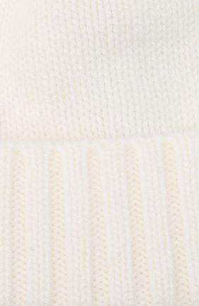 Детского кашемировая шапка GIORGETTI CASHMERE бежевого цвета, арт. MB1693/14A   Фото 3 (Материал: Кашемир, Шерсть)