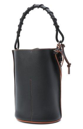 Женская сумка bucket LOEWE бежевого цвета, арт. A650Z85X11   Фото 3
